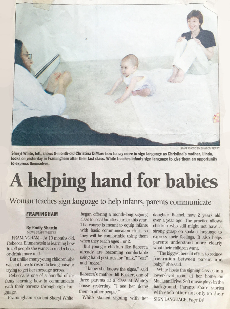 A Helping Hand for Babies - Jul. 12, 2000