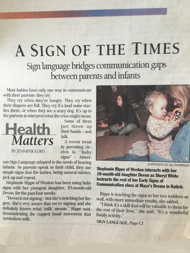 A Sign of the Times - Feb.  6, 2001